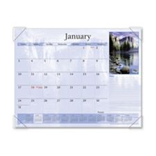 At-A-Glance AAGDMD11032 Monthly Desk Calendar- 12-Mth Jan-Dec- Scenic- 22in.x17in.