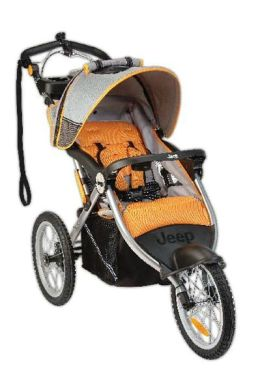 Jeep Jogger Stroller Overland Limited -  Fierce