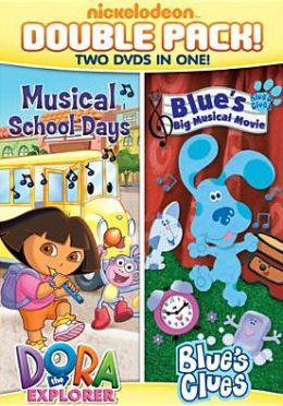 Dora and Blue's Clues Double Feature on DVD