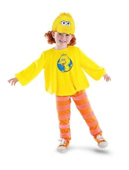 Big Bird Classic Toddler/Child Costume: Size 3T-4T