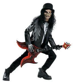 Cryptic Rocker Child Costume: Size Large (10-12)