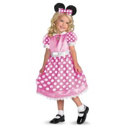 Clubhouse Minnie Mouse (Pink) Toddler/Child Costume: Size Toddler (2T)