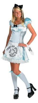 Alice in Wonderland Child/Teen Costume: Size Junior (7-9)