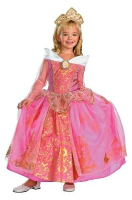 Disney Princess Aurora Prestige Toddler/Child Costume: Size Medium (7-8)