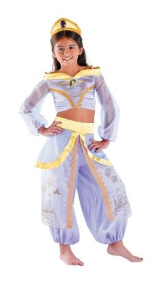 Disney Princess Jasmine Prestige Toddler/Child Costume: Size Medium (7-8)