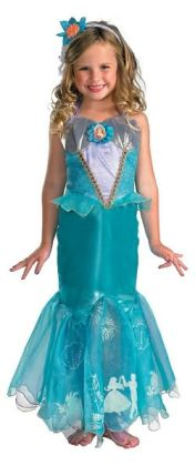 Disney Princess Ariel Prestige Toddler/Child Costume: Size Small (4-6X)