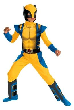 Wolverine Origins Classic Child Costume: Size Large (10-12)