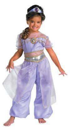 Aladdin Jasmine Deluxe Toddler/Child Costume: Size Medium (7-8)