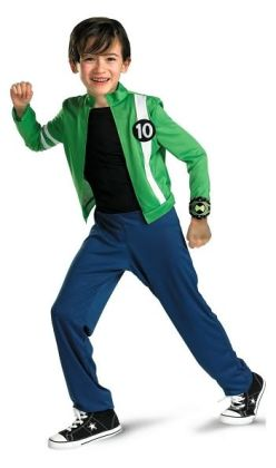 Ben 10 Alien Force Child Costume: Size Medium (7-8)