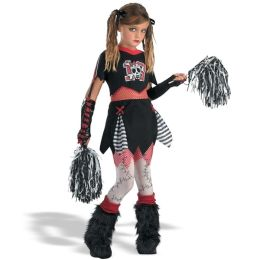 Cheerless Leader Child Costume: Size Large (10-12)
