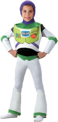 Toy Story - Buzz Lightyear Deluxe Toddler/Child Costume: Size Toddler (3T-4T)