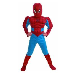 Spider-Man Comic Muscle Figure Child Costume: Size Small (4-6)