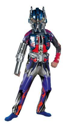Transformers Optimus Prime Deluxe Child Costume: Size Medium (7-8)