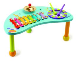 Wooden Musical Percussion and Play Table