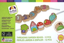 Threading Garden Beads
