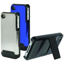 SwitchBACK Case with interchangeable back for iPhone 4 in Black, Blue, Dark