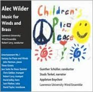 Children's Plea for Peace: Music for Winds and Brass by Alec Wilder