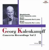 Georg Kulenkampff: Concerto Recordings, Vol. 3