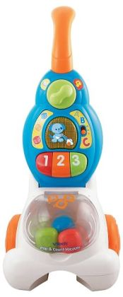 VTech Pop & Count Vacuum