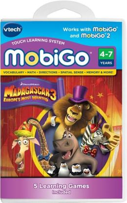 MobiGo Learning Software Cartridge, Madagascar 3