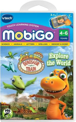 MobiGo Software Cartridge - Dinosaur Train