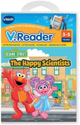 Vreader Animated Reading Book - Elmo
