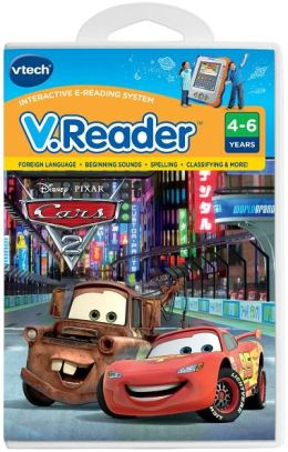 Vreader Animated Reading Book - Cars 2