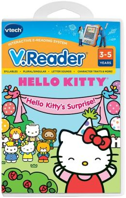 V.Reader Cartridge - Hello Kitty