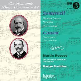 Arthur Somervell: Highland Concerto; Normandy; Frederic Cowen: Concertstück