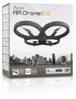 Parrot AR.Drone 2.0 Quadricopter, Blue