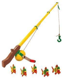 Electronic Pretend Play Fishing Pole