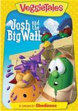 Video/DVD. Title: Veggie Tales: Josh and the Big Wall - A Lesson in Obedience