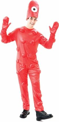 Yo Gabba Gabba - Muno Adult Costume: Medium