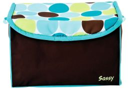 Sassy Modern Soft Sided Organizer - Blue