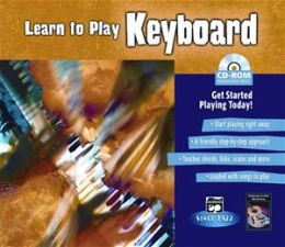Alfred 00-22607 Learn to Play Keyboard - Music Book