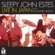 CD Cover Image. Title: Live In Japan With Hammie Nixon, Artist: Sleepy John Estes
