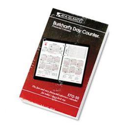 At-A-Glance E71250 Burkhart s Day Counter Daily Desk Calendar Refill 4-1/2w x 7-3/8h