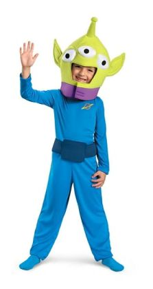 Toy Story - Alien Classic Toddler/Child Costume: Size Small (4-6)