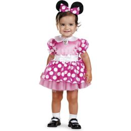 Mickey Mouse Clubhouse - Pink Minnie Mouse Infant Costume: Size 12-18 Months