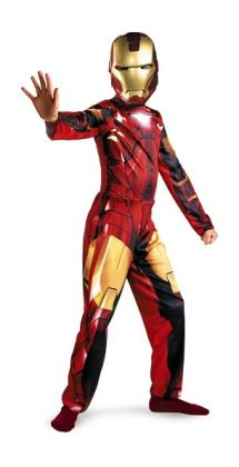 Iron Man 2 (2010) Movie - Mark VI Classic Child Costume: Size Small (4-6)