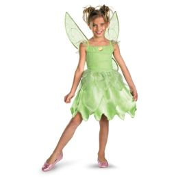 Disney Fairies Tink and the Fairy Rescue - Disney Fairies Tinkerbell Classic Child Costume: Size Toddler (3T-4T)