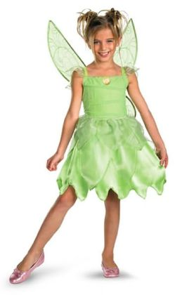 Disney Fairies Tink and the Fairy Rescue - Disney Fairies Tinkerbell Classic Child Costume: Size Medium (7-8)