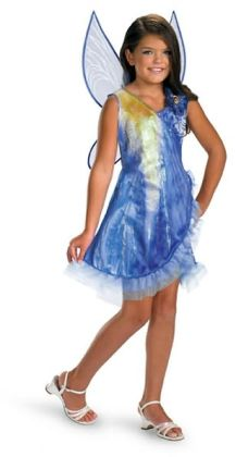 Disney Fairies Tink and the Fairy Rescue - Silvermist Classic Child Costume: Size Small (4-6X)