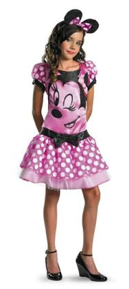Mickey Mouse Clubhouse - Pink Minnie Mouse Child/Tween Costume: Size Tween (14-16)
