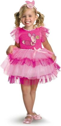Winnie the Pooh - Frilly Piglet Toddler / Child Costume: Toddler (3T/4T)