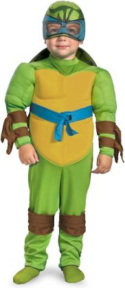 Teenage Mutant Ninja Turtles - Leonardo  Muscle Toddler / Child Costume : Toddler (2T)