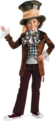 Alice in Wonderland Movie - Mad Hatter Child Costume: Small (4/6)