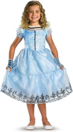 Alice in Wonderland Movie - Alice Child Costume: Small (4/6x)