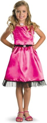 Sharpay's Fabulous Adventure - Sharpay's Pink Dress Child Costume: Large (10/12)