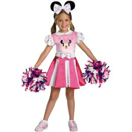 Mickey Mouse Clubhouse - Minnie Mouse Cheerleader Toddler / Child Costume: Small (4/6x)